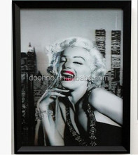 Hot Selling Modern Decorative Marilyn Monroe Sex Girl 3d lenticular Picture