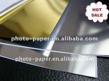 Manufacturing inkjet metallic photo paper /inkjet film a4