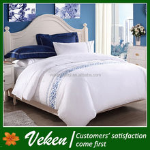 4pcs 1600 thread count double plain dyed dobby woven cotton bed linen usa