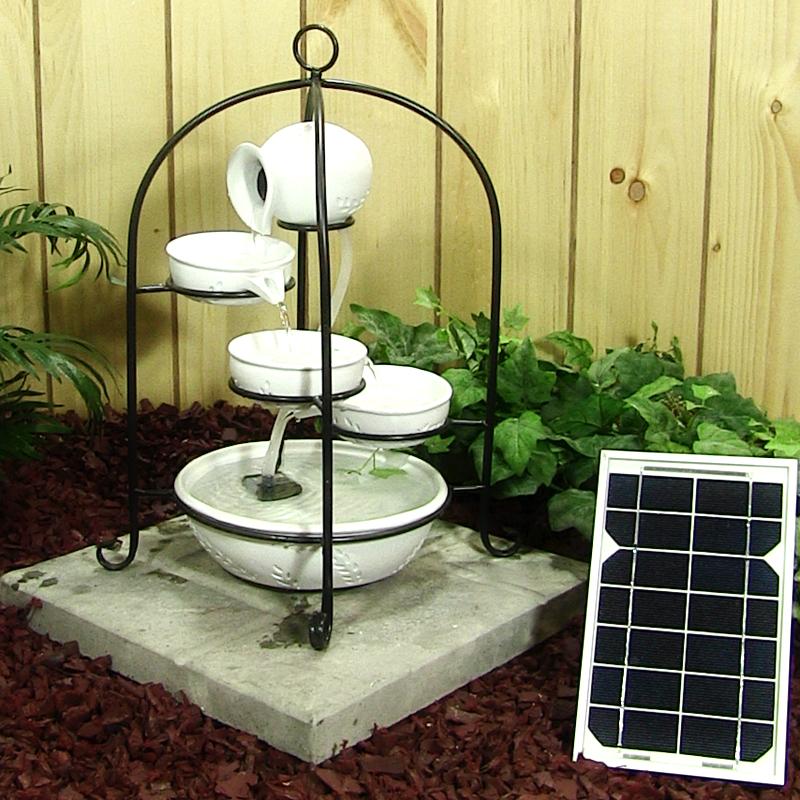 enfeites de jardim solar : enfeites de jardim solar:Solar Do Jardim-Outros enfeites e adornos de água para jardim