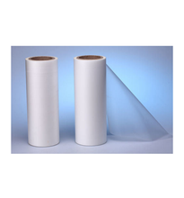Wholesale 75/100 Micron Transparent Pet heat transfer printing Film For Heat Transfer Sticker