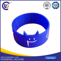 promotional BPA Free Silicone Bracelet,scented Cheap silicone wristband ,europe custom silicone wristbands