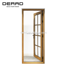 Australia Luxury Best Quality Aluminum Clad Wood Doors For Sale