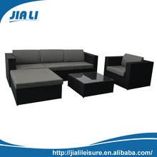 Leisure outdoor furniture wicker resin