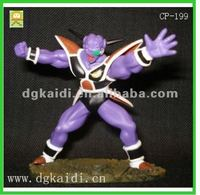 Hot sale high quality OEM cartoon model toy 3D plastic pvc collection Dragonball anime action figure toy
