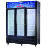 LG1380A3 Supermarket Refrigeration Equipment Vertical Cold