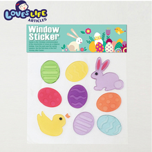 High quality removable and reusable combination static cling jelly stickers
