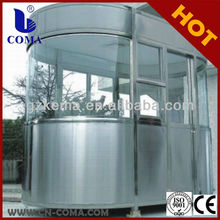 Top Manufacturer from Guangzhou COMA sentry box shed prefab house from China manufacturer