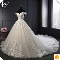 Empire victorian elie saab dress quality real picture heavy beading luxury wedding dresses