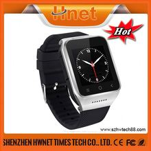 "1.54"" stainless steel gsm wrist watch cell phone"