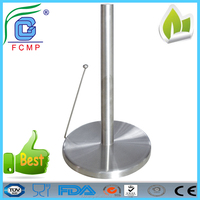 High quality funny cheap free standing cute stainless steel toilet paper holder
