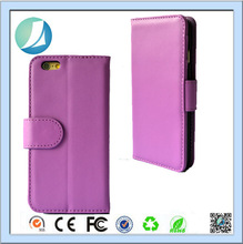 2016 Flip Wallet Case Premium PU Leather 2-in-1 Protective Magnetic Shell with Credit Card Holder / Slots For Apple Iphone 6