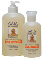 GAIA Skin Naturals Australia Bath and Body wash (Pure, Natural, Organic)