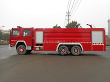 China Fire Truck Cheap Price Water Foam Fire Fighting Truck
