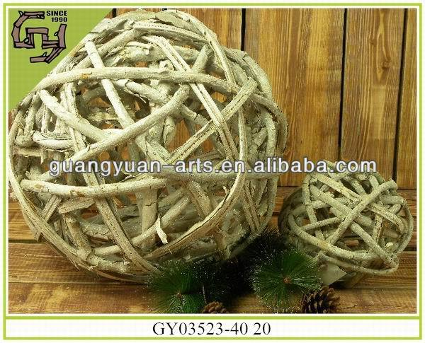 Christmas decorative crafts natural rattan Christmas ball