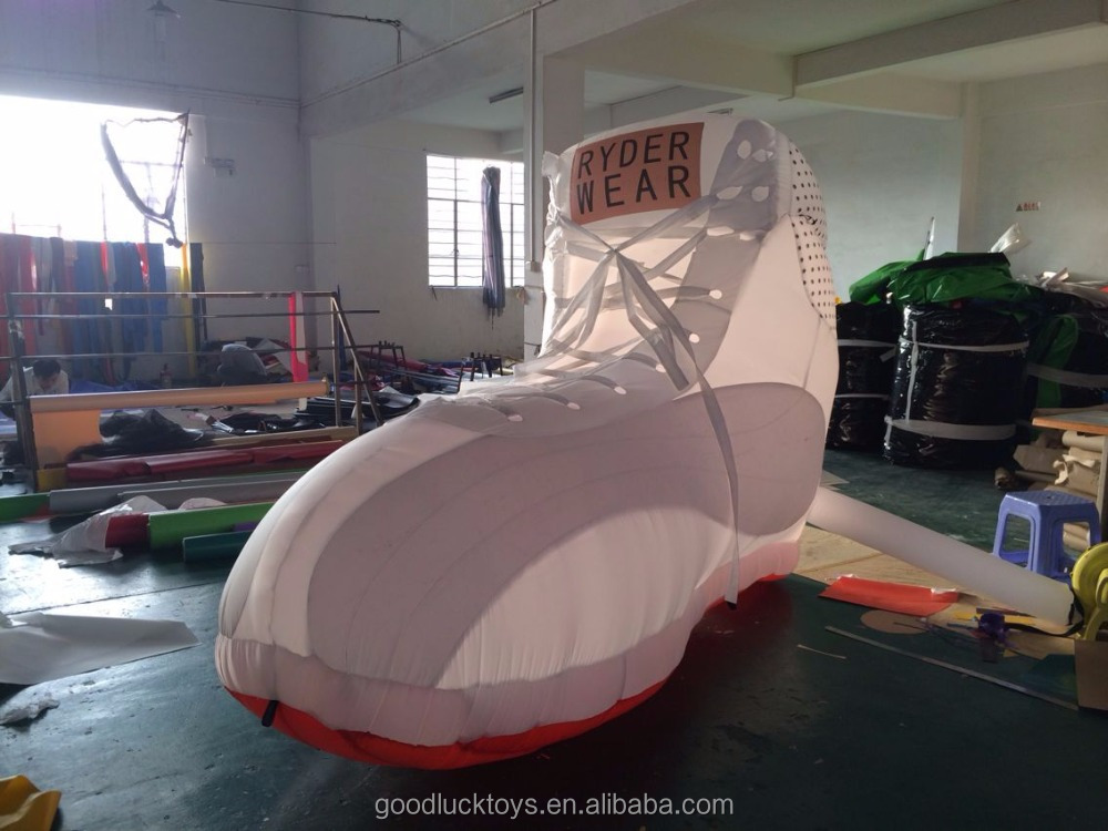 advertising replicas giant inflatable shoes