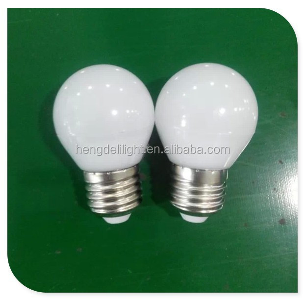 Professional China Supplier 3W G45 E27 E14 B22 260 degree LED Bulb LED Lights