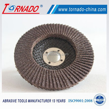 fiberglass backing plate flap disc for polishing stainless steel pipe
