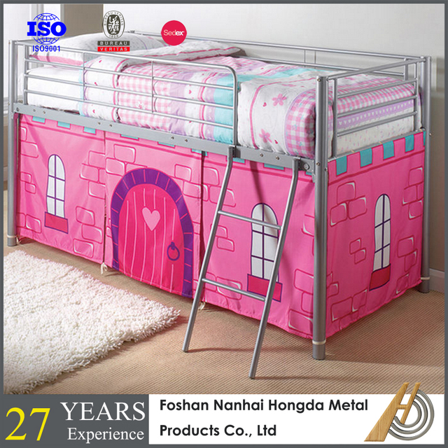 Childrens mid sleeper cabin bed