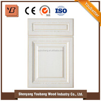 wooden furniture designs cabinet doors / PVC kitchen cabinet for indoor furniture