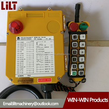 F21-12D Robust and reliable crane and hoist controlling RF wireless remote control with 2 senders and 1 receiver