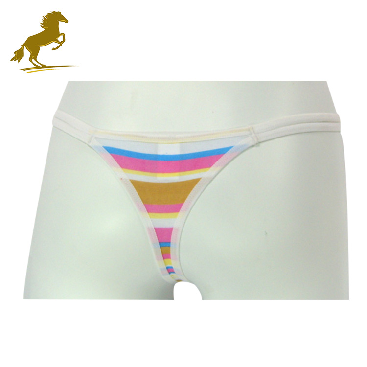 China Sexy Manufacturer Wholesale High Cut Mens Thong Underwear
