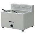 BN-73 Commercial LPG 1 Tank 2 Basket Stainless Steel Deep Fryer