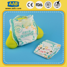 Wholesale non-woven 23g-36g new printed cute disposable diaper