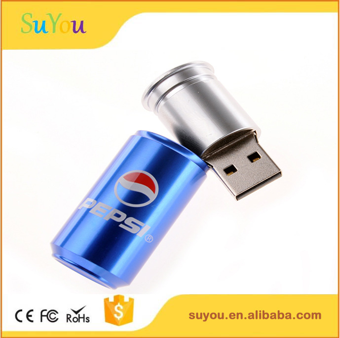 2017 hottest coke can usb flash drive ,corporate gifts usb 8gb ,metal usb 8-32gb full capacity