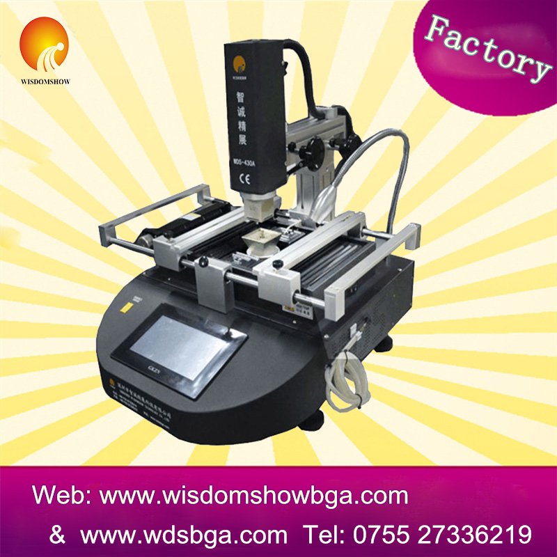 WDS-430 Chipset Remove&Replace Bga Rework Machine Computer Repair Bga Machine Chipset Solder Ball Reballing