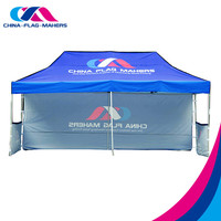 Cheap custom printed canopy tent , china promotional pop up event tent wholesale