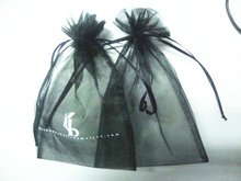 High quality and cheapest black Draw string bag