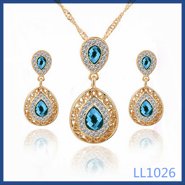 2016 factory direct gold plated party fashion jewelry top quality dubai gold jewelry <strong>set</strong>