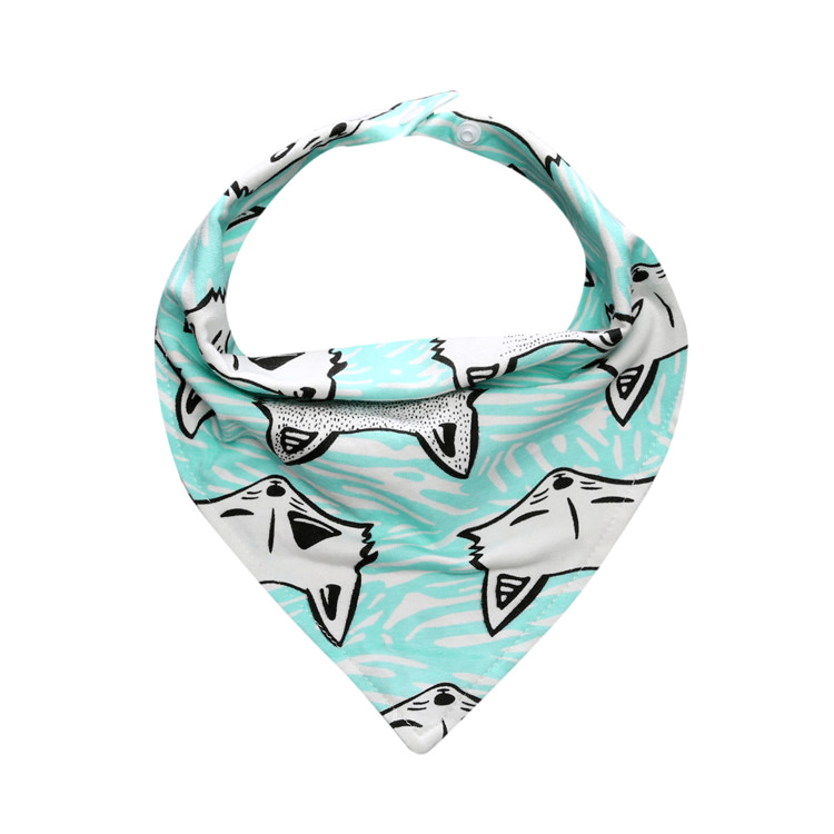Dreamcatcher Kids Bib Bear Baby Bib Wholesale Price Bandana Drool Cotton Baby Bib