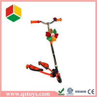 Plastic breaststroke car toy scooter for toddlers