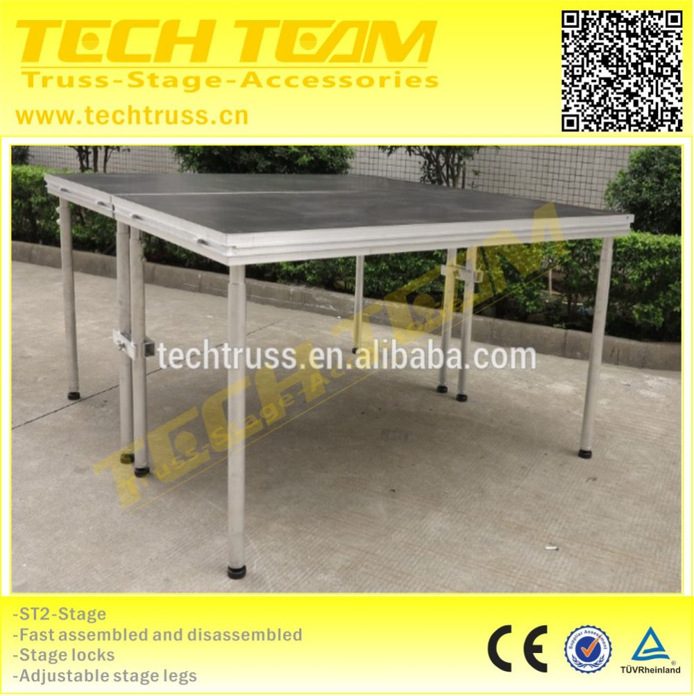 High Quality Aluminum Stage Platform,Folding Portable Stage