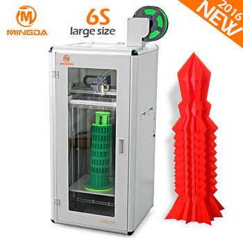 High Precision MINGDA Largest Glitar 6S 3D Printer Machine For Sale , Big Printing Size 300*300*600mm Impresora 3D China Factory