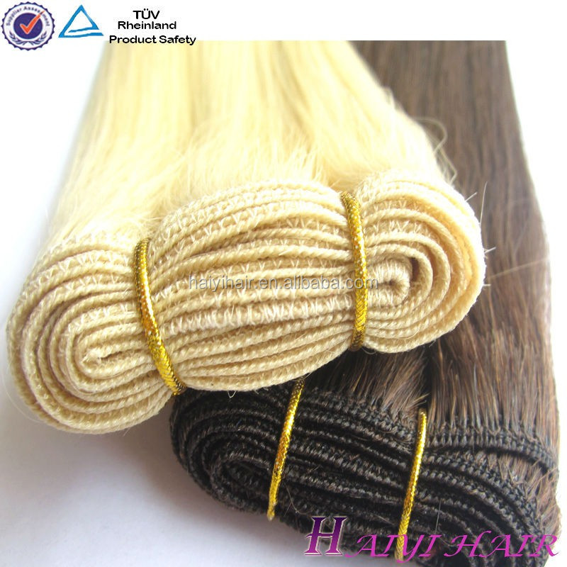 Hair Factory unprocessed full cuticle no shed no tangle number 2 hair color weave