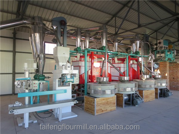 High quality small wheat flour mill, small flour mill, small flour stone mill