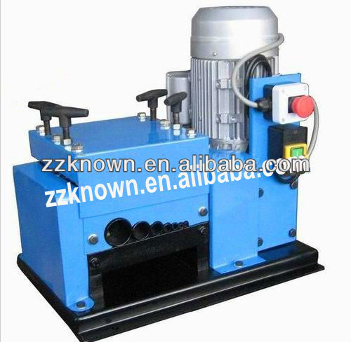 Profesional copper wire/cable stripping machine