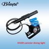 26650 rechargeable canister xml underwater torch