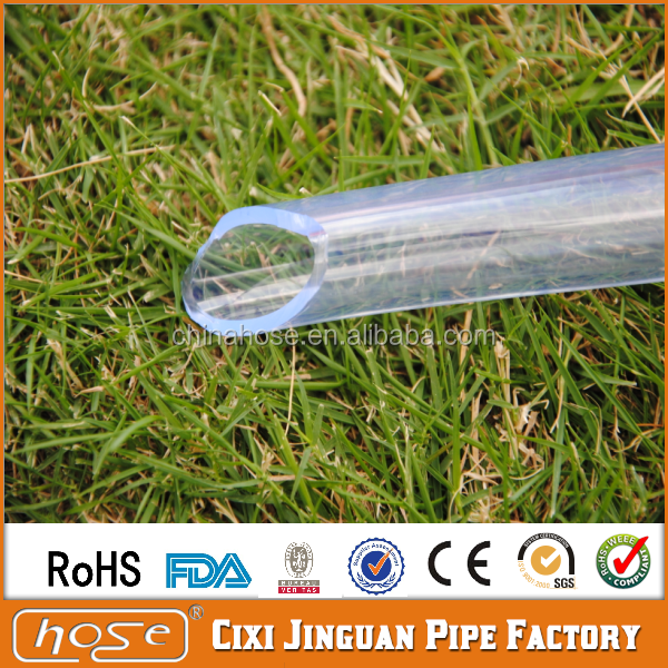 Cixi Jinguan Specialized Food Quality Transparent PVC Plastic Tube,Soft Food Grade Vinyl Tubing,Sanitary Flexible PVC Clear Hose
