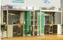 Metal Material and School Furniture Type student bunk bed