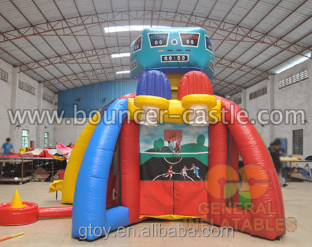 hot game Sport 5 in 1 for fun inflatable games indoor and outdoor games