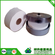 Factorty direct sale 100% virgin wood pulp jumbo roll bath tissue paper