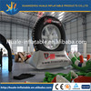 Inflatable model for advertising, inflatable tire shape for advertising