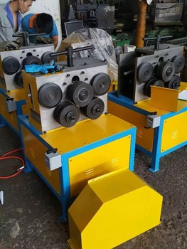 angle iron volume circle machine