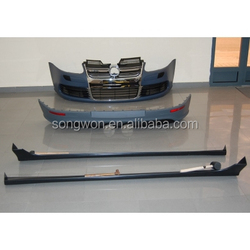 For Volkswagen Golf 5 V R32 Car Bodykits With Grill,MK5 R32 Body Kit