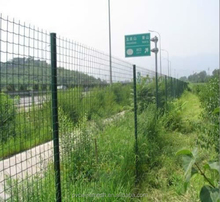 Vinyl Wire Mesh Fence Panels For Welded Euro Fence