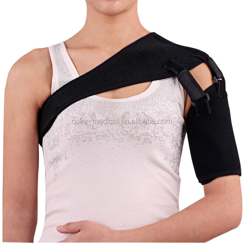 Shoulder Support Strap Neoprene Brace Injury Arthritis Pain Gym Sport